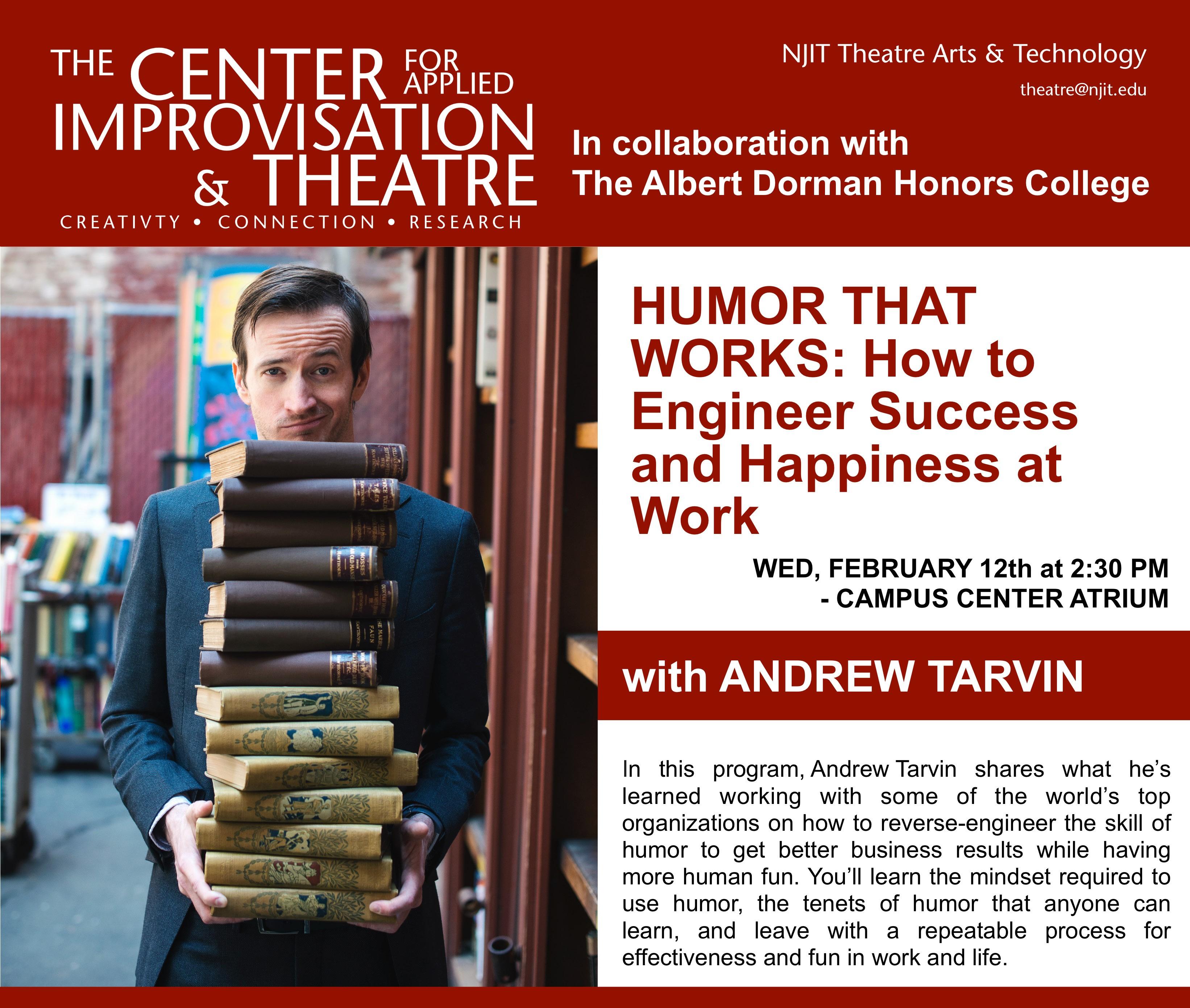 Andrew Tarvin Poster