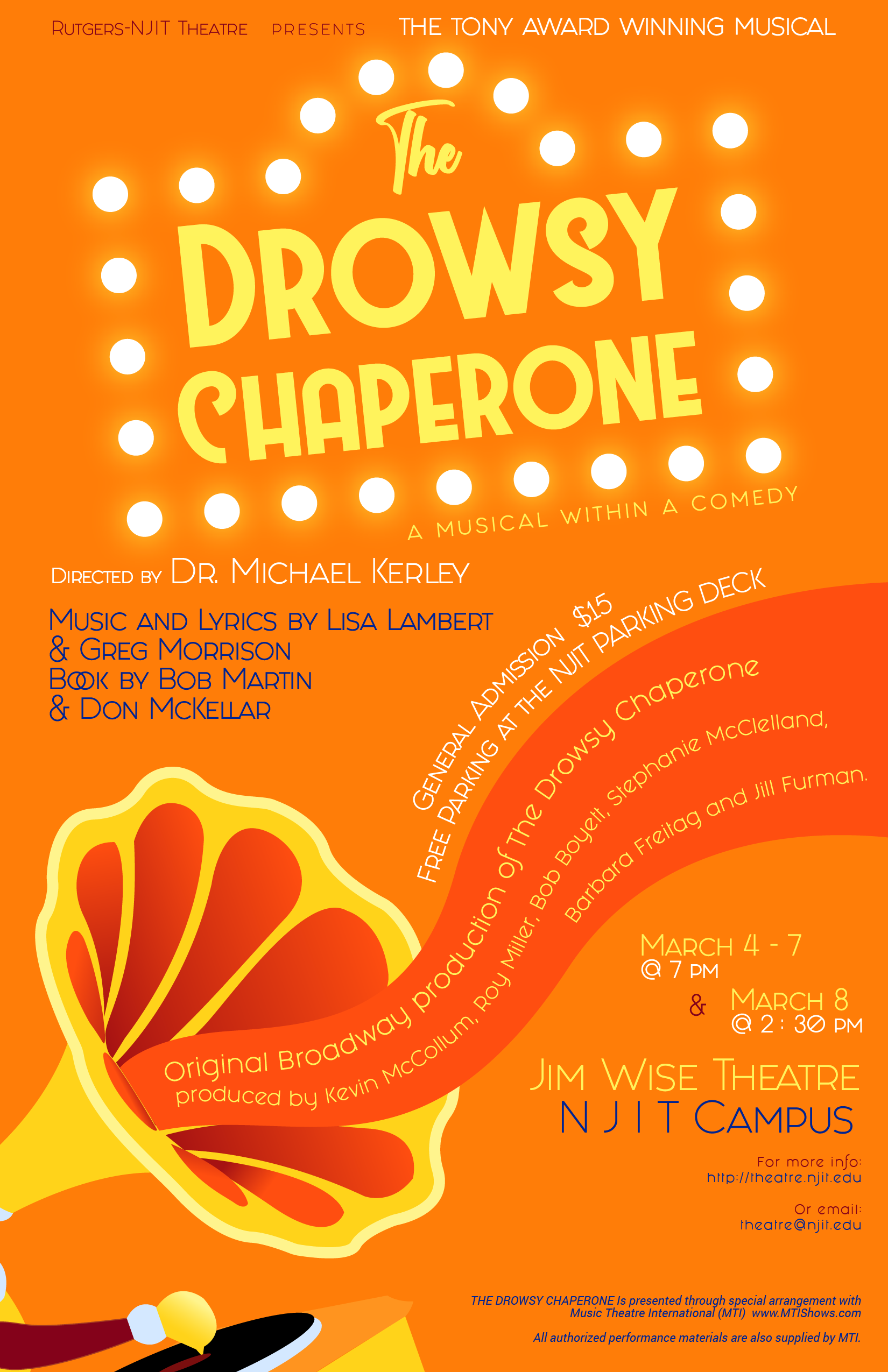 Drowsy_Chaperone Poster