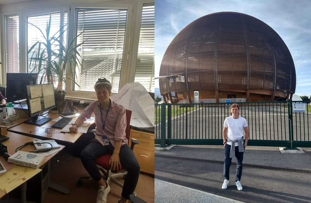Pablo Arrutia Sota - Summer Internship at CERN 2018