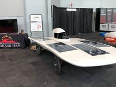 Solar Car Team at NYC Auto Show 2019